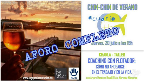 Aforo completo al taller chin chin de verano Logopedas Asturias