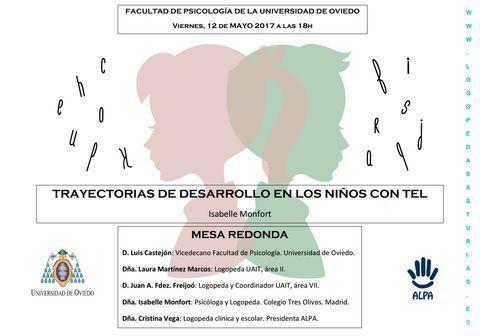 ALPA - MI NIÑ@ NO HABLA: ¿ME PREOCUPO? - ALPA - Asociación de Logopedas del Principado de Asturias