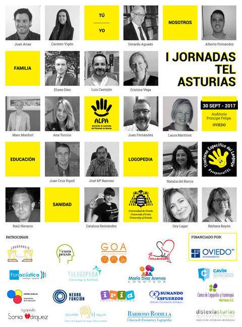 ALPA - I JORNADAS TEL ASTURIAS - ALPA - Asociación de Logopedas del Principado de Asturias